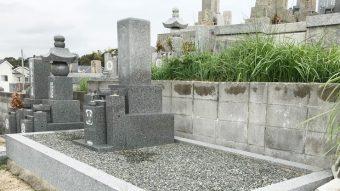 神戸市西区の高津橋共同墓地でお墓じまい