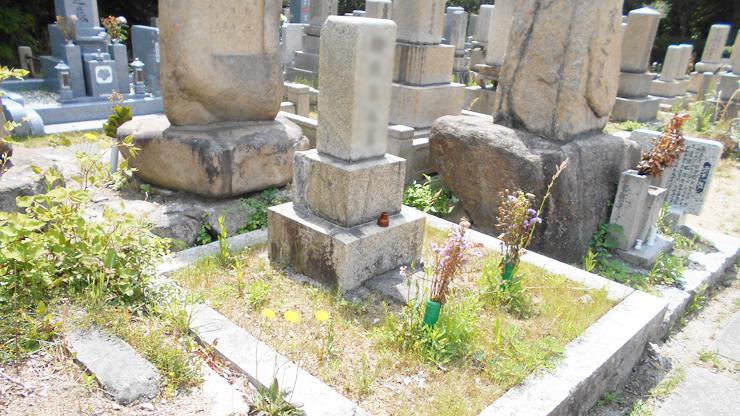 神戸市立鵯越霊園でお墓じまい