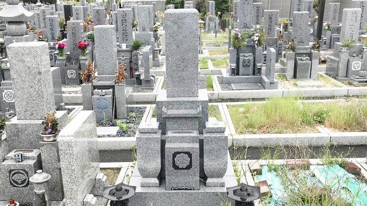 泉大津市の泉大津市営板原公園墓地でお墓じまい