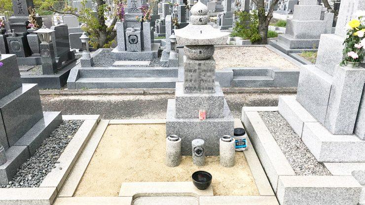 交野市の私部墓地でお墓じまい