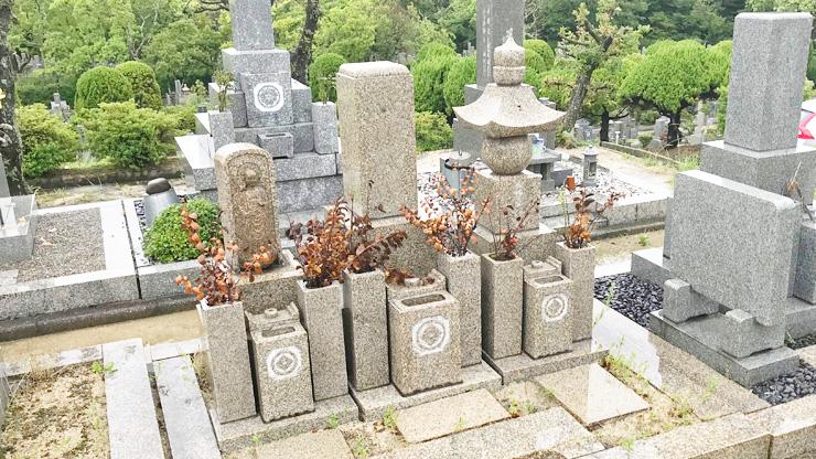 西宮市の西宮市立甲山墓園でお墓じまい